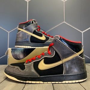 Nike Dunk High Premium Marshall Amps Skate Shoes